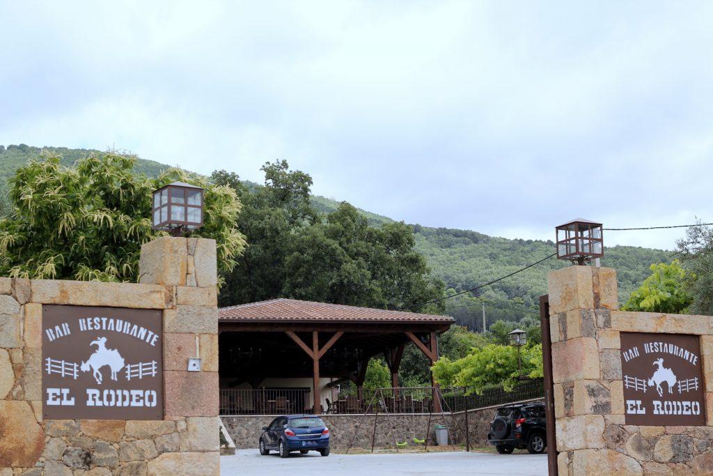 El Rodeo entrada